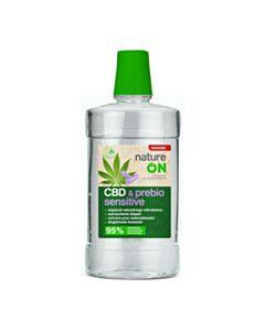 płyn do higieny jamy ustnej CBD&PREBIO SENSITIVE, 500 ml