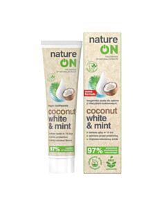 wegańska pasta do zębow z mleczkiem kokosowym, 100 ml
