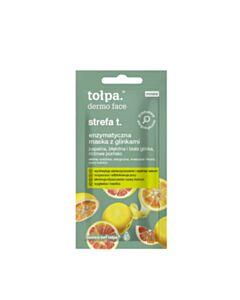 enzymatyczna maska z glinkami, 8 ml