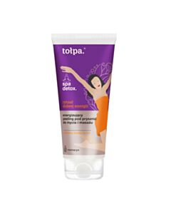energizujący peeling pod prysznic do mycia i masażu, 200 ml