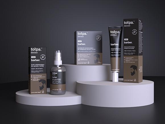 linia tołpa dermo men barber nagrodzona przez magazyny Twój Styl i Men's Health