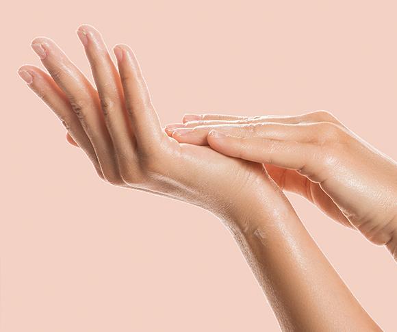 składniki pielęgnujące skórę dłoni