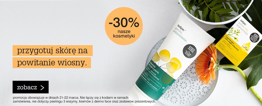 kosmetyki -30%
