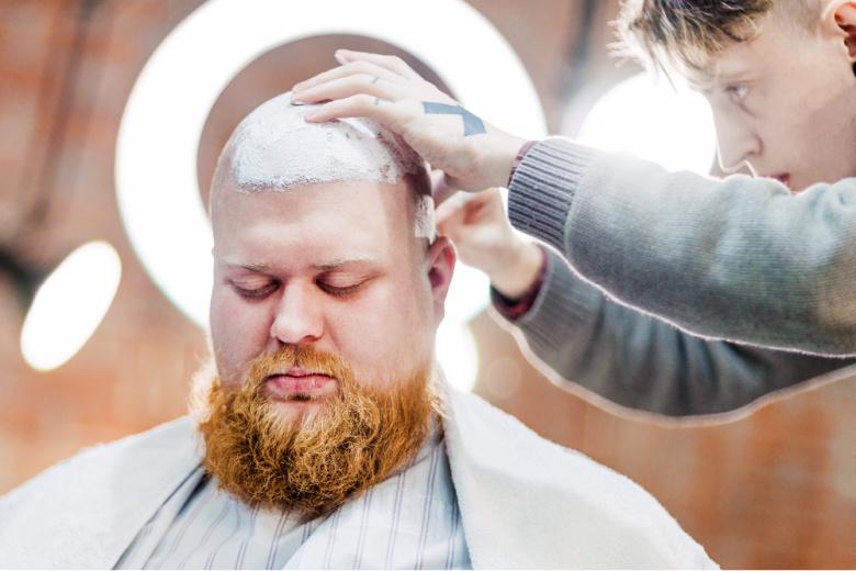 Golenie głowy na łyso
