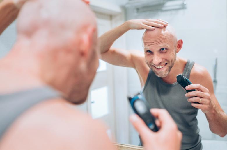 Pielęgnacja skóry głowy po goleniu