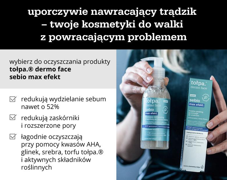 Uporczywie nawracający trądzik – twoje kosmetyki do walki z powracającym problemem - infografika