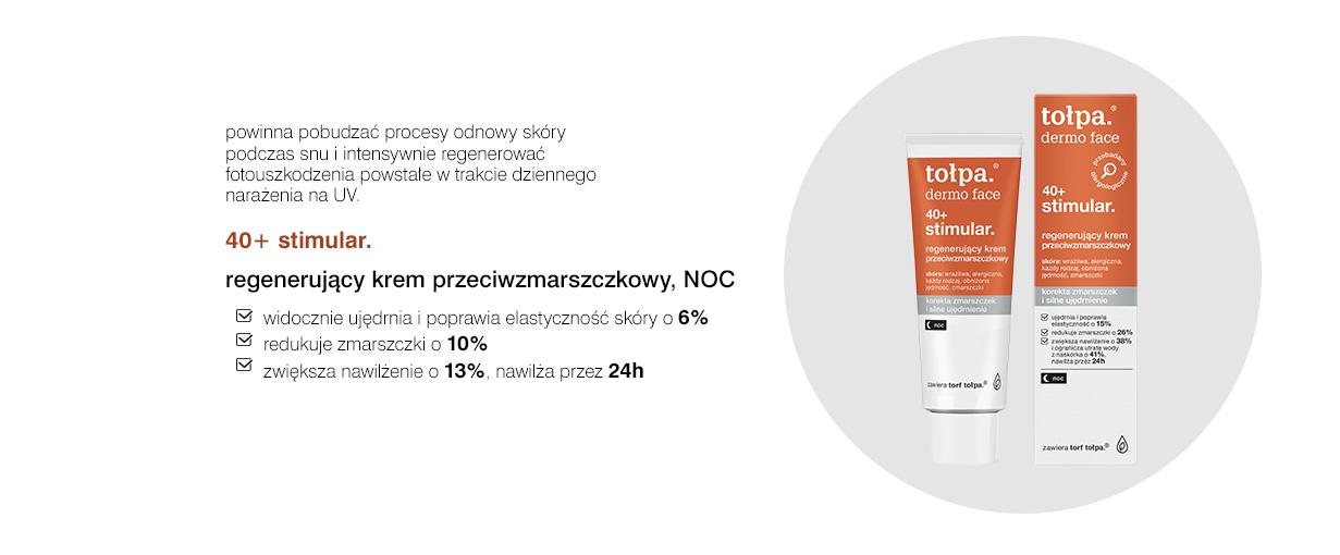 regenerujący krem przeciwzmarszczkowy, NOC, 40 ml