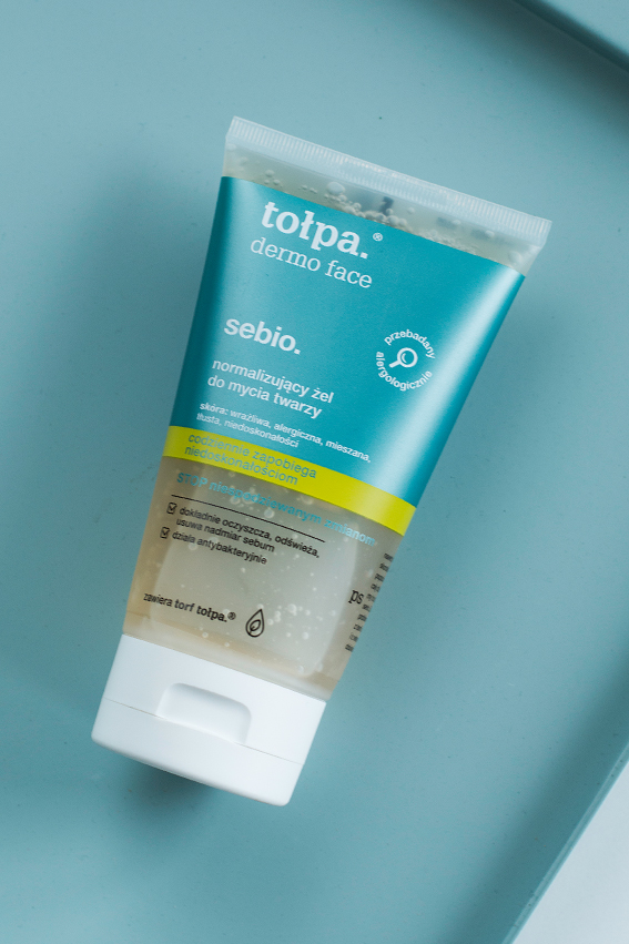 normalizujący żel do mycia twarzy