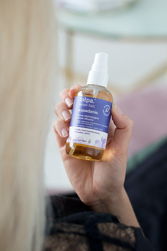serum stymulujące odrost włosów
